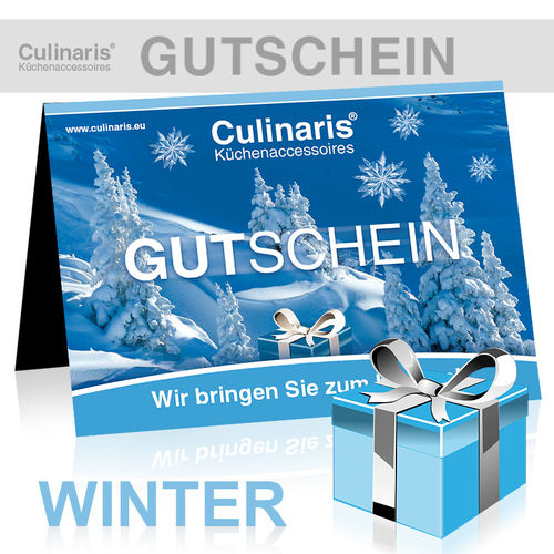 Culinaris-Store Gift Coupon - Design Winter