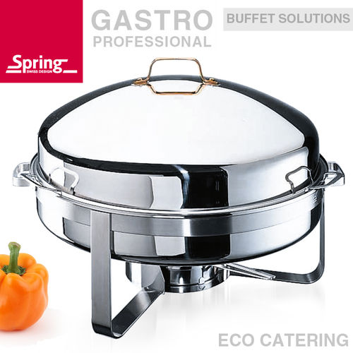 Spring - Round King Size chafing dish 70 cm