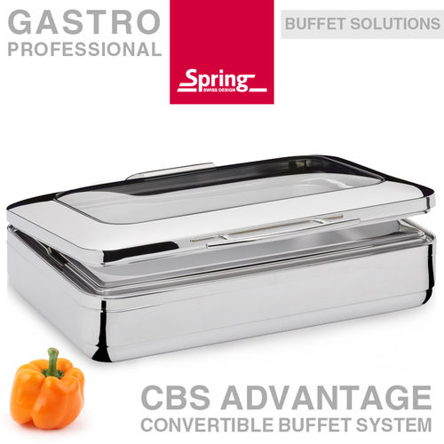 Spring - CBS Advantage Chafing Dish Window GN 1/1
