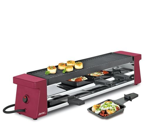 Spring - Raclette 4 Compact - Rot