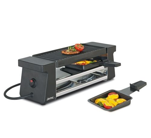 Spring - Raclette 2 Compact - Schwarz